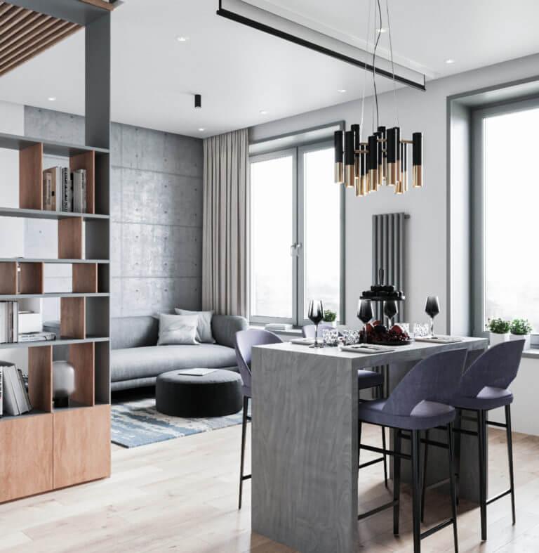 Апартаменты в ЖК «Фили Град» - Студия дизайна интерьера в Москве