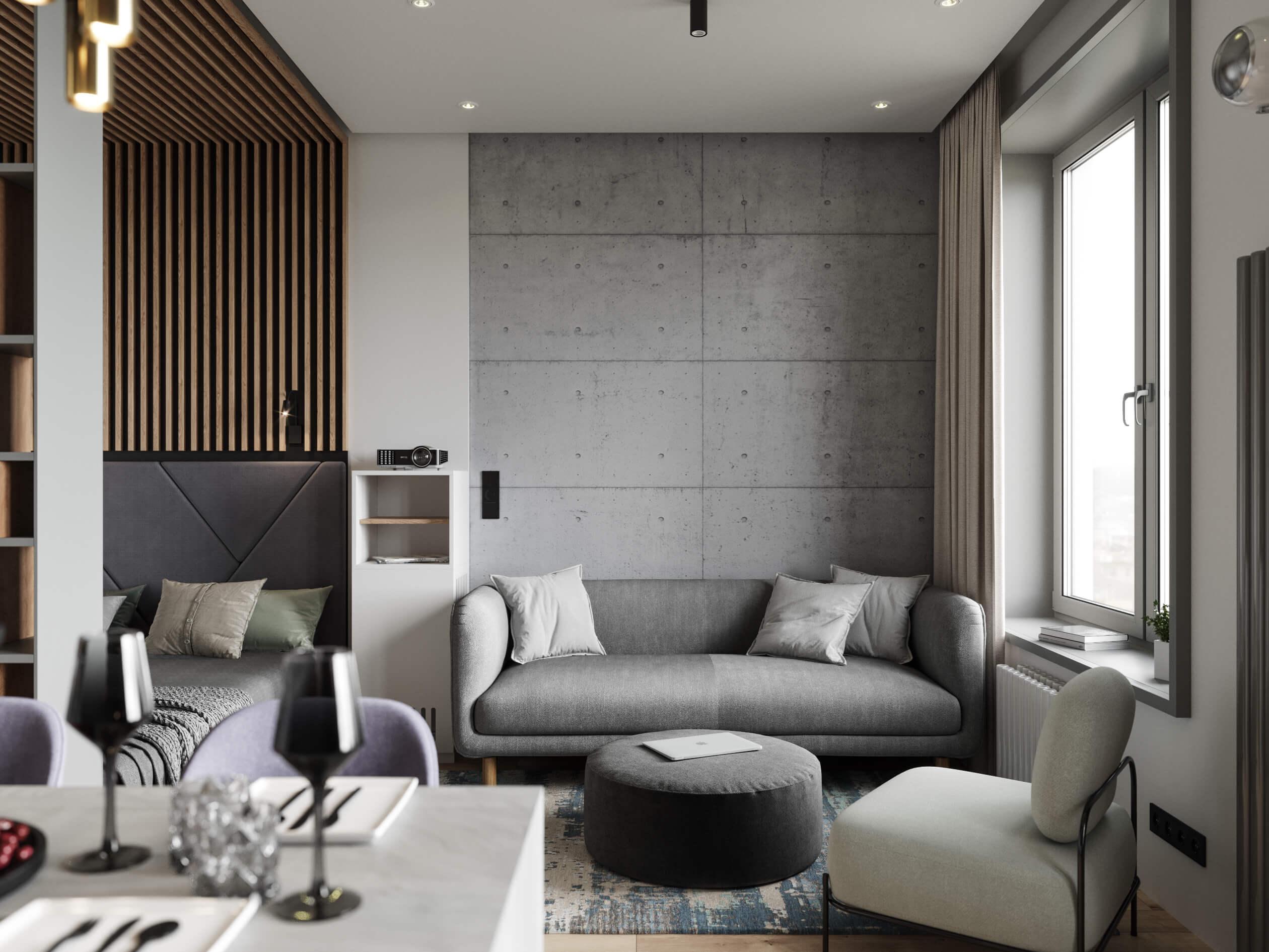 Апартаменты дизайн интерьера