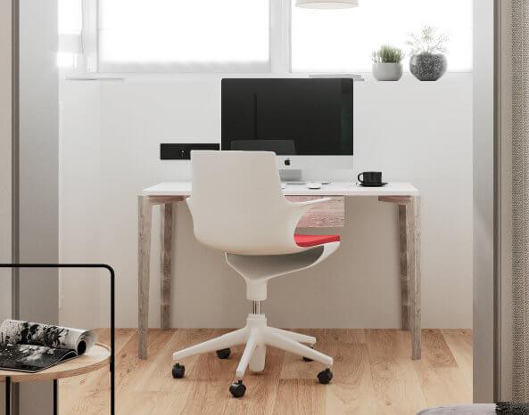 Личный кабинет в доме - студия дизайна интерьера