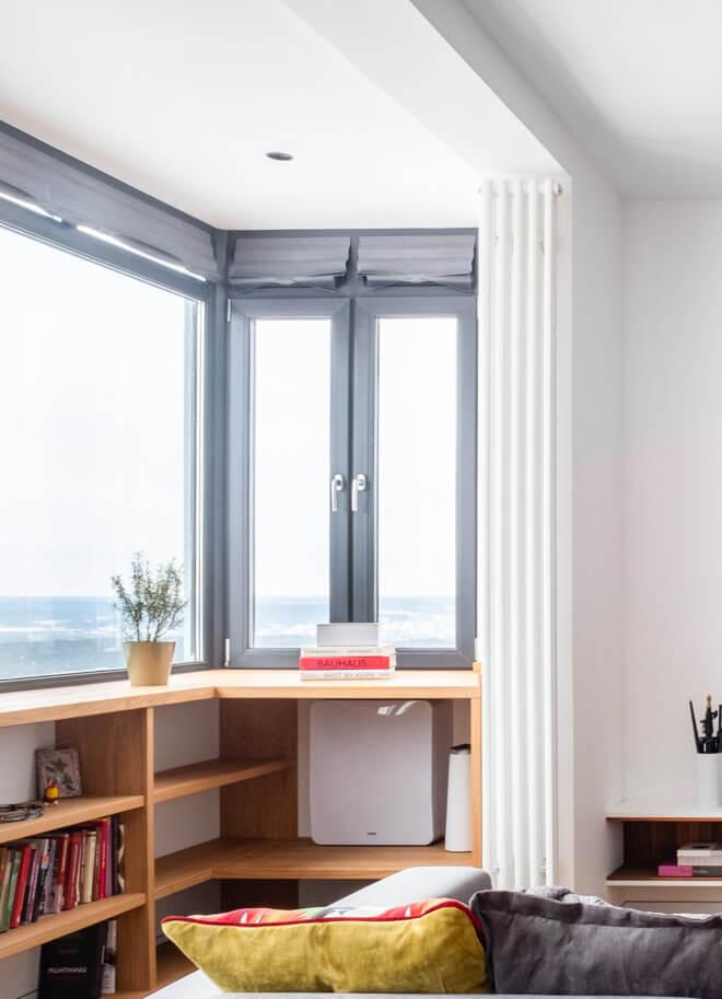 Современный светлый дизайн интерьера