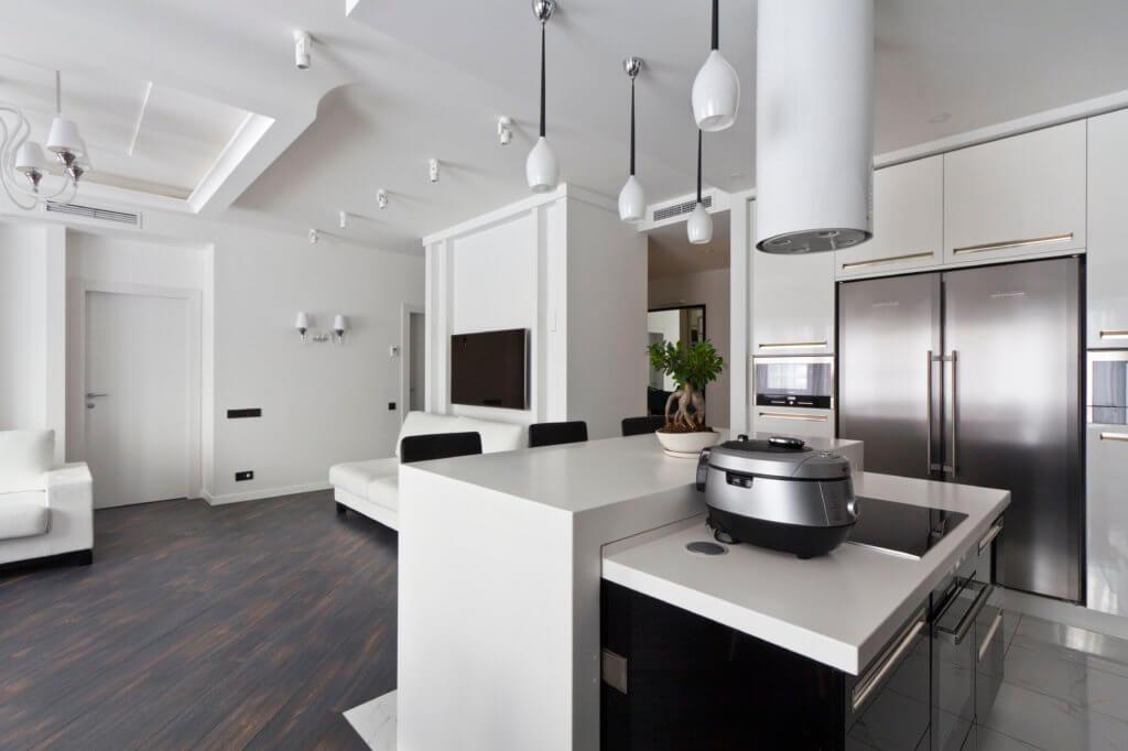 Авторский дизайн интерьера квартиры премиум класса