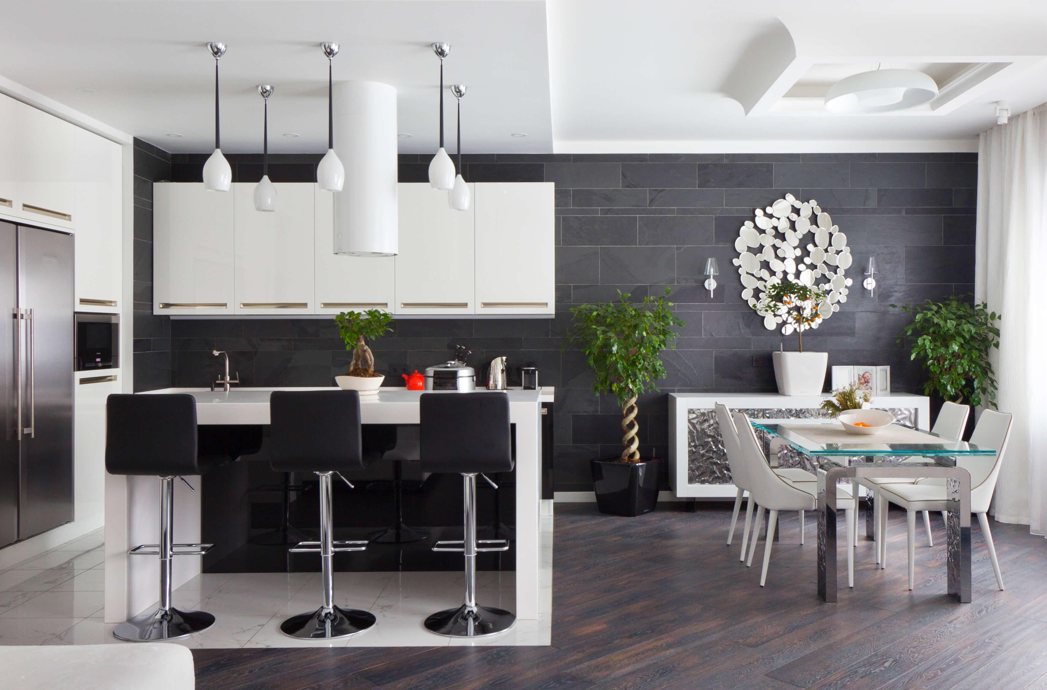 Современный дизайн интерьера квартиры премиум класса