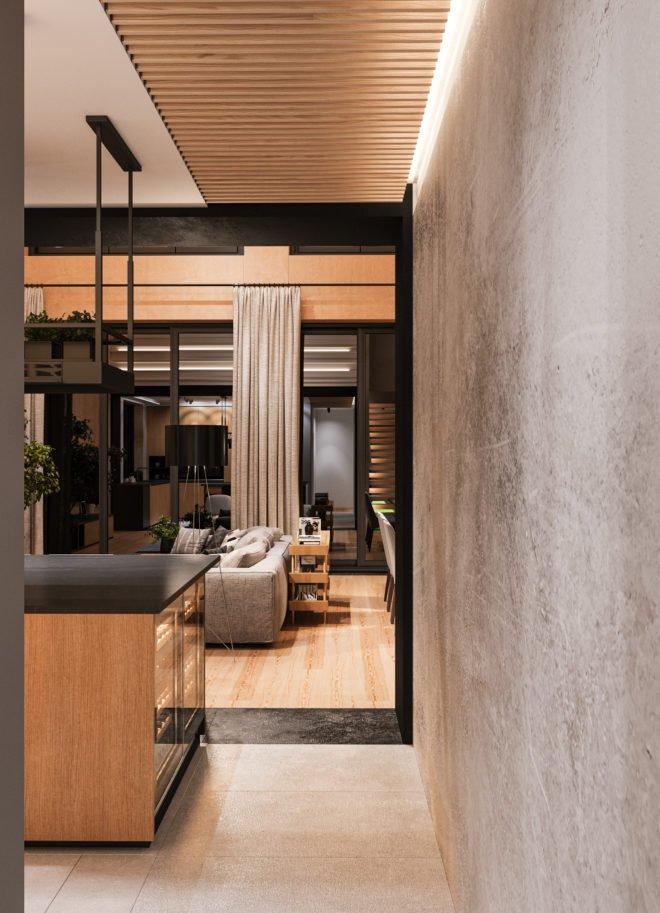 Европейский дизайн интерьера загородного дома