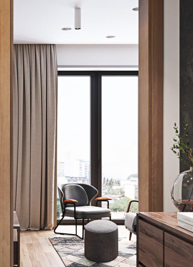 Дизайн интерьера квартиры авторский