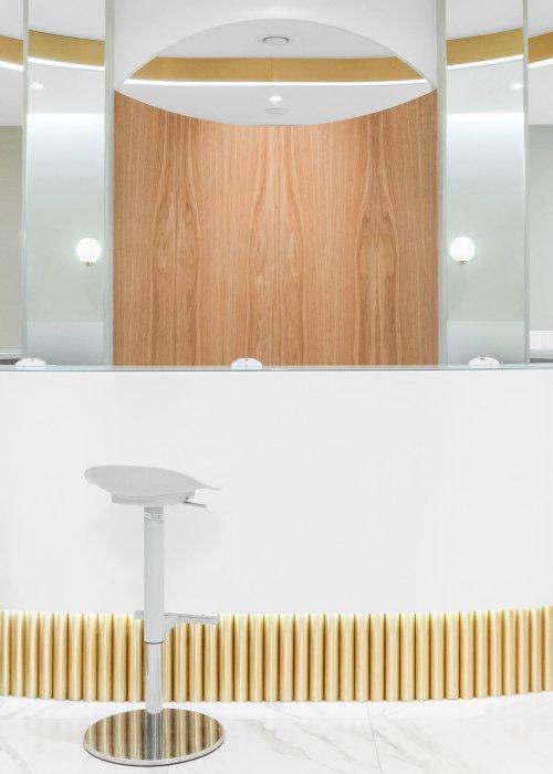 Современный коммерческий дизайн интерьера